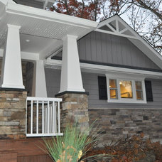 Craftsman Exterior by Center Island Contracting Inc.