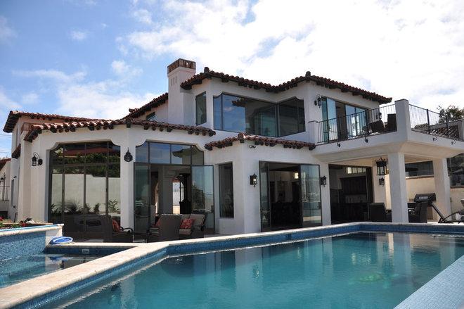 Mediterranean Exterior by Dorothy Howard AIA, Architect