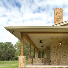 Traditional Exterior by Harris Welker Architects