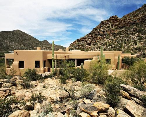 Desert Style House Houzz