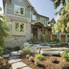 Craftsman Exterior by Studio21 Architects