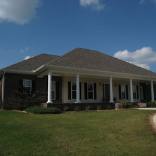 Traditional Exterior by DesignHouse Inc - House Plans