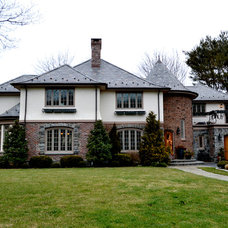 Traditional Exterior by Grasso Development Corp