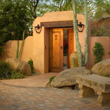 Southwestern Exterior by Exteriors By Chad Robert
