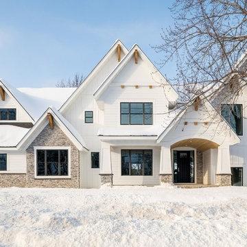 Dreamy Contemporary Craftsman Home
