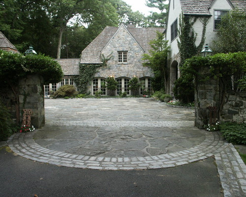 Paving driveway designs home design ideas pictures remodel and decor Home driveway design ideas