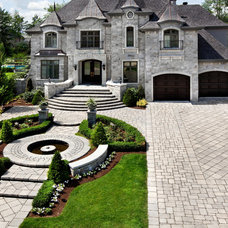Traditional Exterior by Techo-Bloc