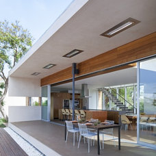 Modern Exterior by DuChateau Floors