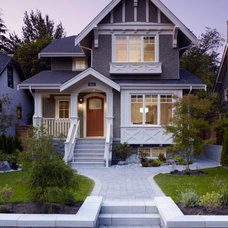Craftsman Exterior by Henry + Glegg Design