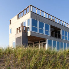 Beach Style Exterior by Resolution: 4 Architecture