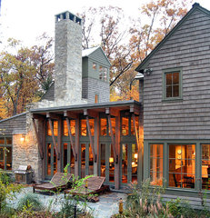 traditional exterior by Culligan Abraham Architecture