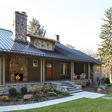 Traditional Exterior by Angelini and Associates Architects