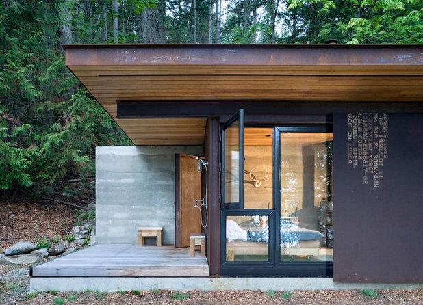 Rustikt Hus & facade by Terra Firma Builders Ltd.