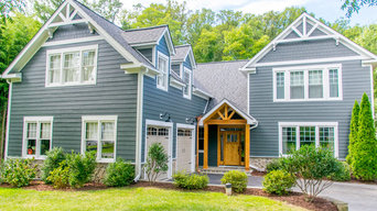 Dunn Loring, VA. James Hardie Siding and Full Home Remodel (Before and After)