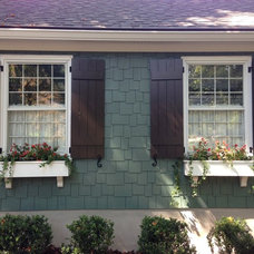 Craftsman Exterior by Real Cedar Shutters