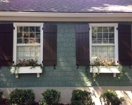 Craftsman style shutters home design ideas pictures for Shutter styles