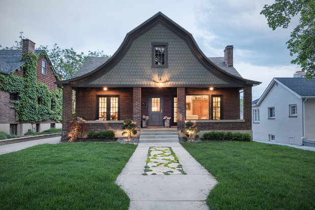 Traditional Exterior by Emily  Foxley & Co.