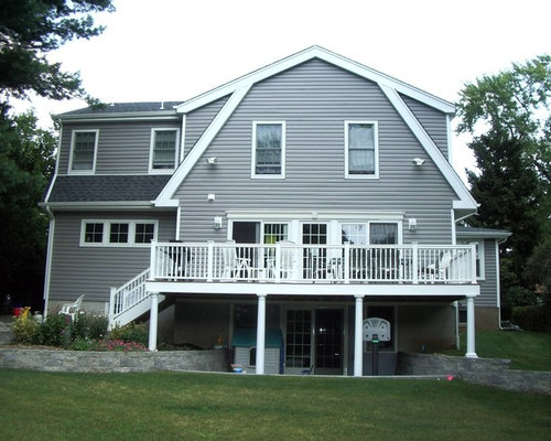 Dutch colonial addition home design ideas pictures for Colonial house addition