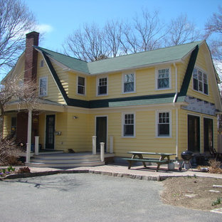Traditional exterior home idea in Providence