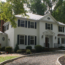 Traditional Exterior by A. James Gondeck, G.C.