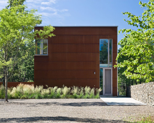 Corrugated Steel Siding Houzz