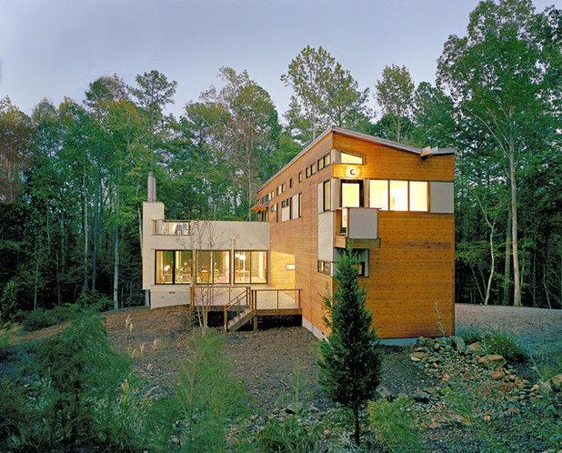 Moderno Fachada by Resolution: 4 Architecture