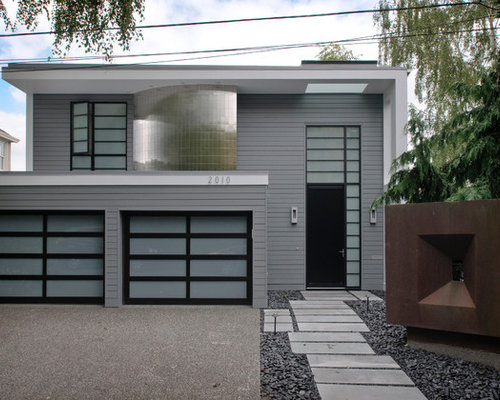 Gray Exterior Paint Houzz