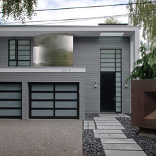 contemporary exterior by Dyna Contracting