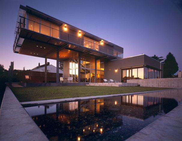 Contemporary Exterior by E. Cobb Architects