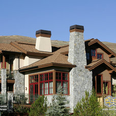 Traditional Exterior by Northern Stone Supply, Inc.