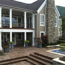 Traditional Exterior by Landform Design Group