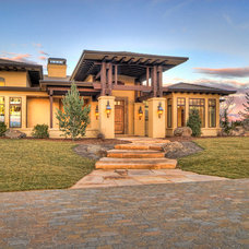Eclectic Exterior by Tradewinds General Contracting, Inc.