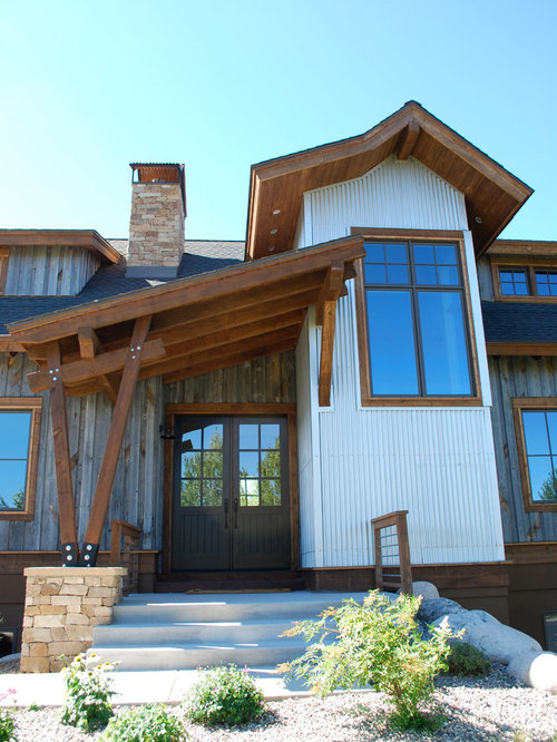 Rustic Wood Siding Ideas, Pictures, Remodel and Decor on Contemporary Siding Ideas  id=78667