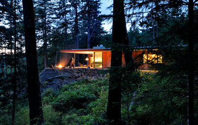 Houzz Tour: Just What Mom Wanted, Off the Washington Coast