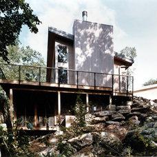 Contemporary Exterior by DaCruz Segal Architecture llc