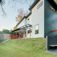 Contemporary Exterior by Durham Builders