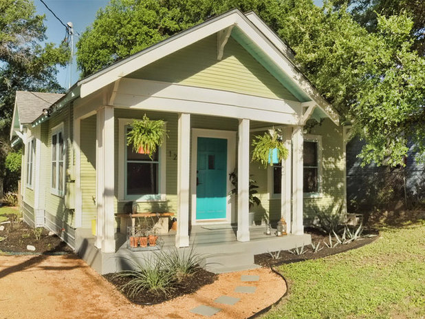 Traditional Exterior by Remodel Boutique
