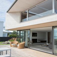 Contemporary Exterior by Daniel Marshall Architect