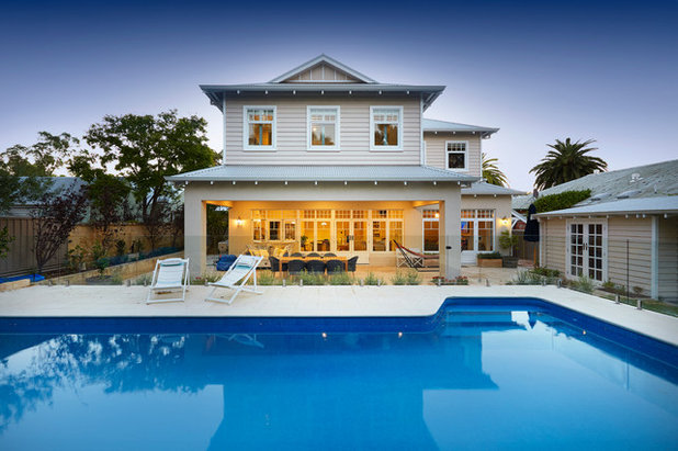 Beach Style Exterior by Nulook Homes