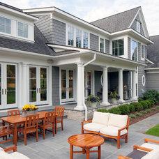 Traditional Exterior by J Visser Design