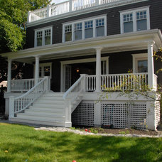 Traditional Exterior by Extraordinary League Contracting