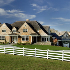 Traditional Exterior by Aquidneck Properties