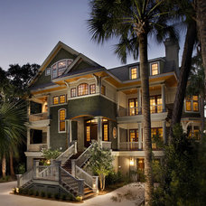 Beach Style Exterior Eclectic Exterior