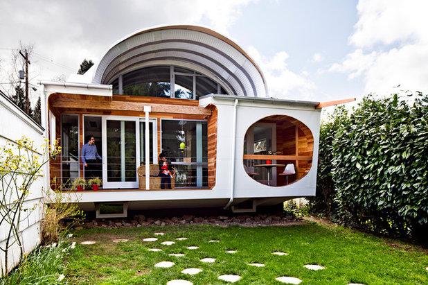 visite priv e une maison futuriste vue dans la s rie tv portlandia. Black Bedroom Furniture Sets. Home Design Ideas