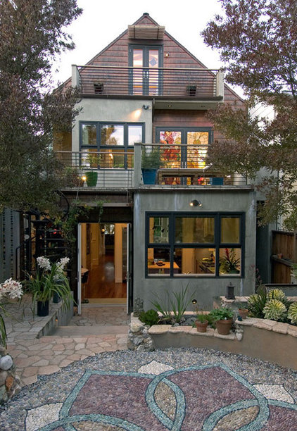 Eclectic Exterior by Jeff King & Company