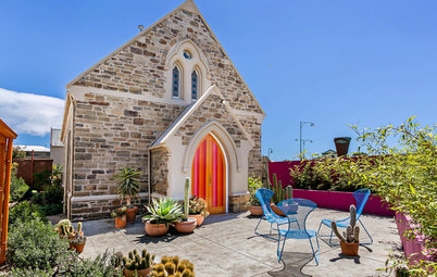 Houzz Tour: Candy-Colored Church Conversion in South Australia