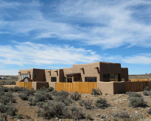 Pueblo style home design ideas pictures remodel and decor for New mexico house plans