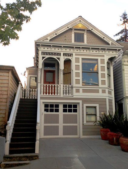 Traditional Exterior Eclectic in San Francisco's Dogpatch District