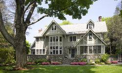 Eclectic Modern Tudor Exterior