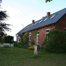 Traditional Exterior Eclectic Swedish Country House